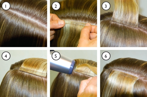 Tape extensions tiffani chanel luxury hair tape pmusecretfo Gallery
